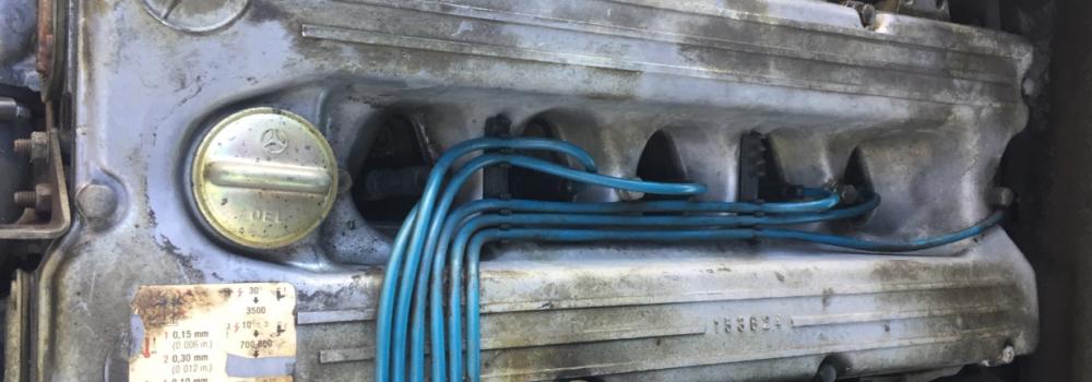 Motor Vor Trockeneisreinigung